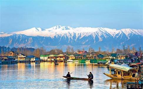Dal Lake of Kashmir India