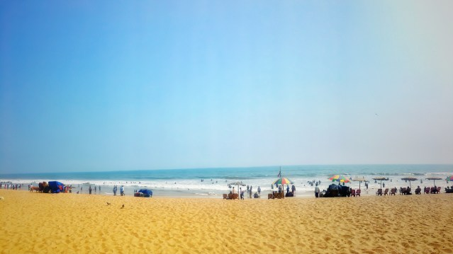 Golden Sea Beach,Puri Odisha, India