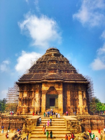 The entire Konark Sun Temple