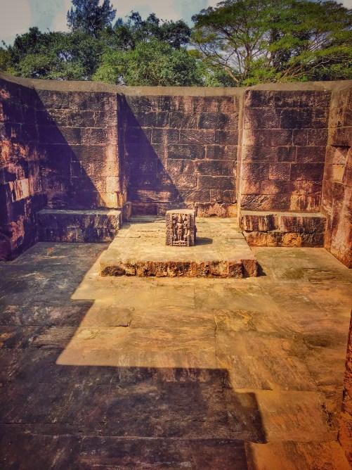sculpture in temple at Sun temple konark