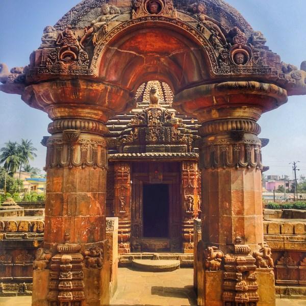 Tourist Places of Odisha   A temple in Bhubaneswar Odisha India