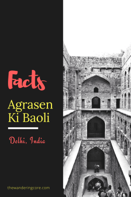 Fun facts about Agrasen Ki Baoli Delhi India || Places to see in Delhi || Things to do in Delhi || Travelling || Travel || #thewanderingcore #travel #asia #india #ajmer