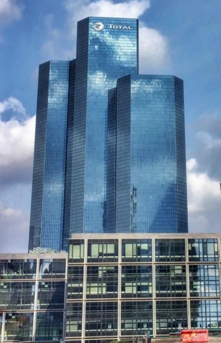 Three towers at La Défense Paris France | La Grande Arche de la Défense