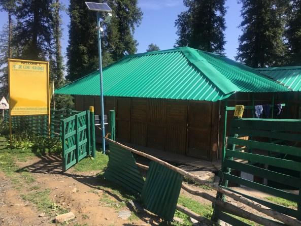 A cottage at Narkanda Himachal Pradesh India