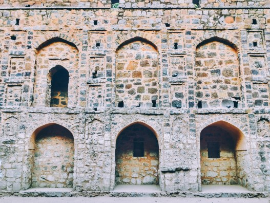 Agrasen Ki Baoli architecture delhi India