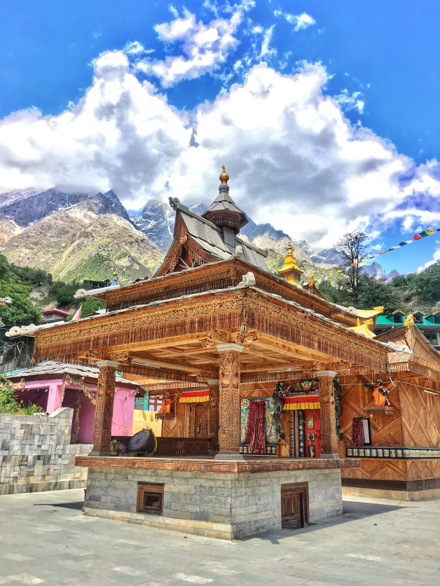 Bering Nag Temple Sangla valley Himachal Pradesh India