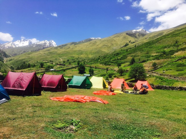 camps Sangla Kanda Himachal Pradesh India