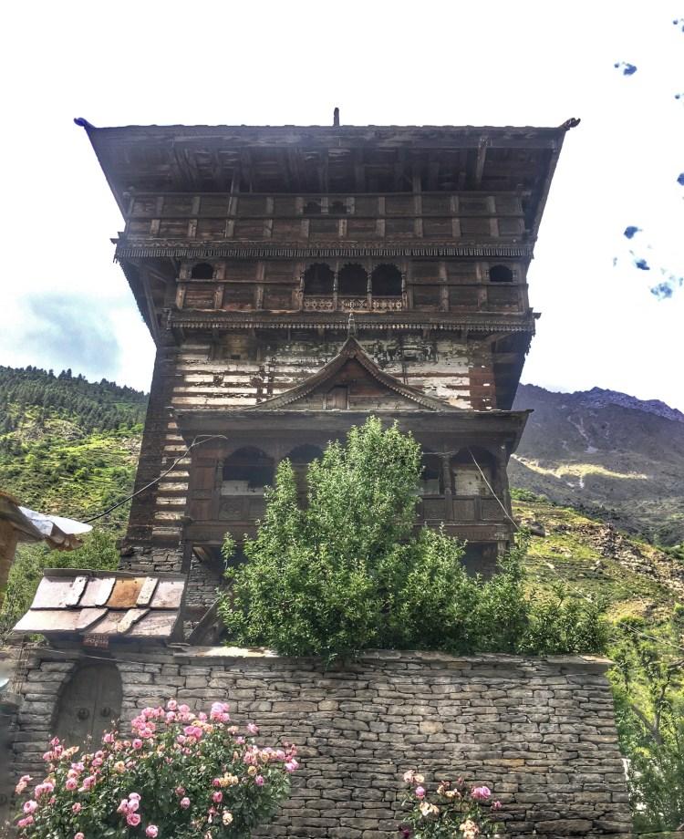 Kamru Fort in Sangla Valley Himachal Pradesh