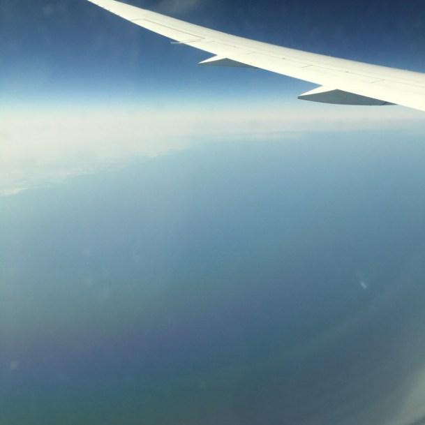 Qatar Airways Economy class review | Qatar Airways Economy class food | View from Qatar airways Over Doha