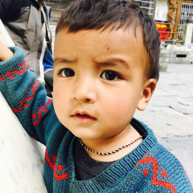 A kid in sangla valley, India