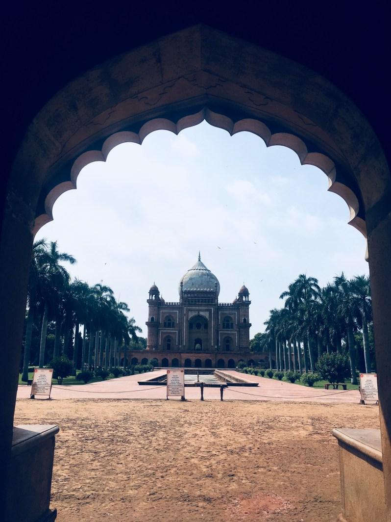 Safdar Jang Tomb from entry gate