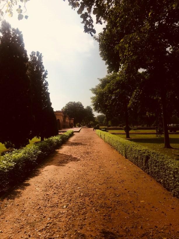 Safdarjung Tomb garden path