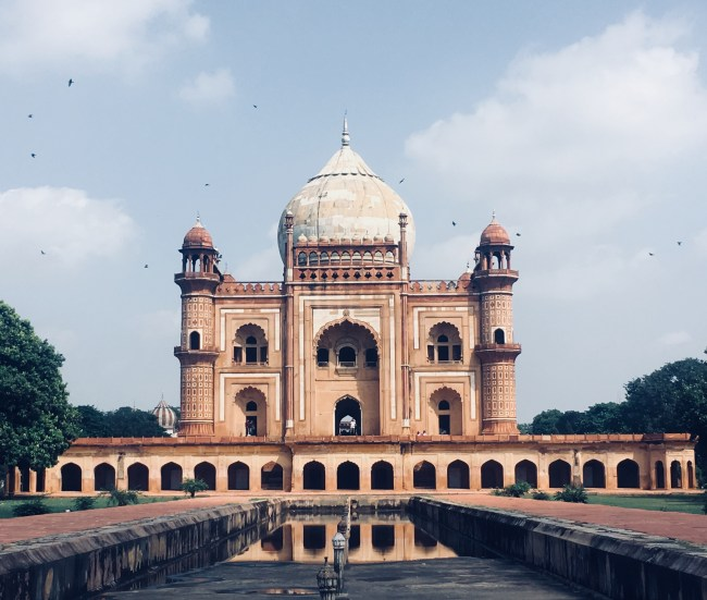 Safdarjung Tomb - View from Rear