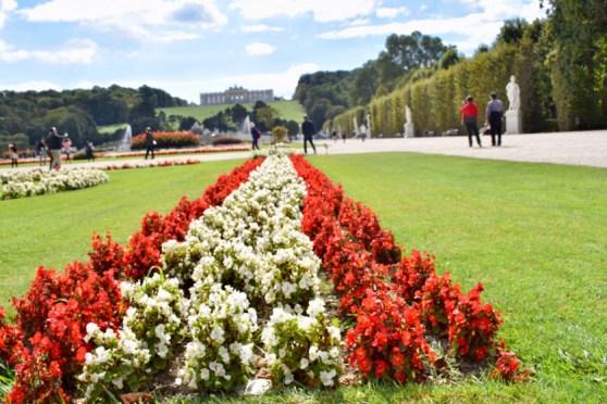 Schonbrunn Palace - Gardens-Vienna-Austria