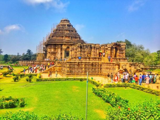 konark temple Odisha Temple