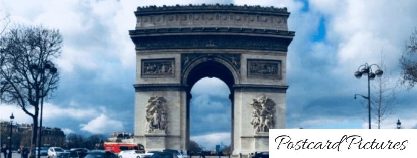 Postcard Pictures Paris France