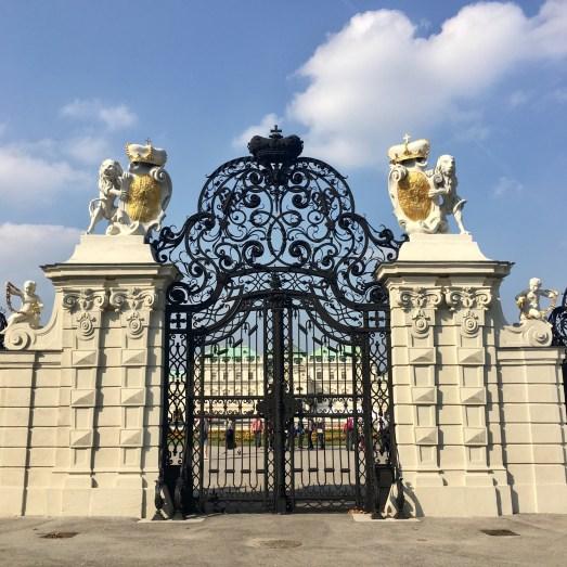 Belvedere Palace - Entrance