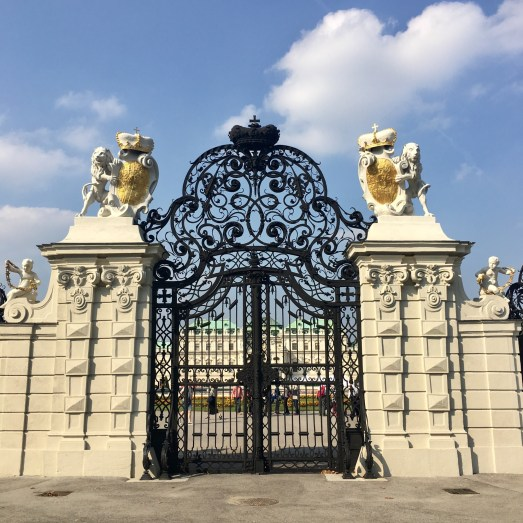 Belvedere Palace - Entrance