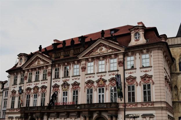 Prague - A beautiful building