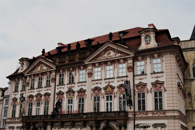 Prague - A beautiful building