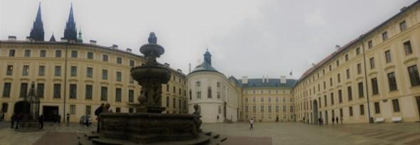 Prague castle - panoromic view