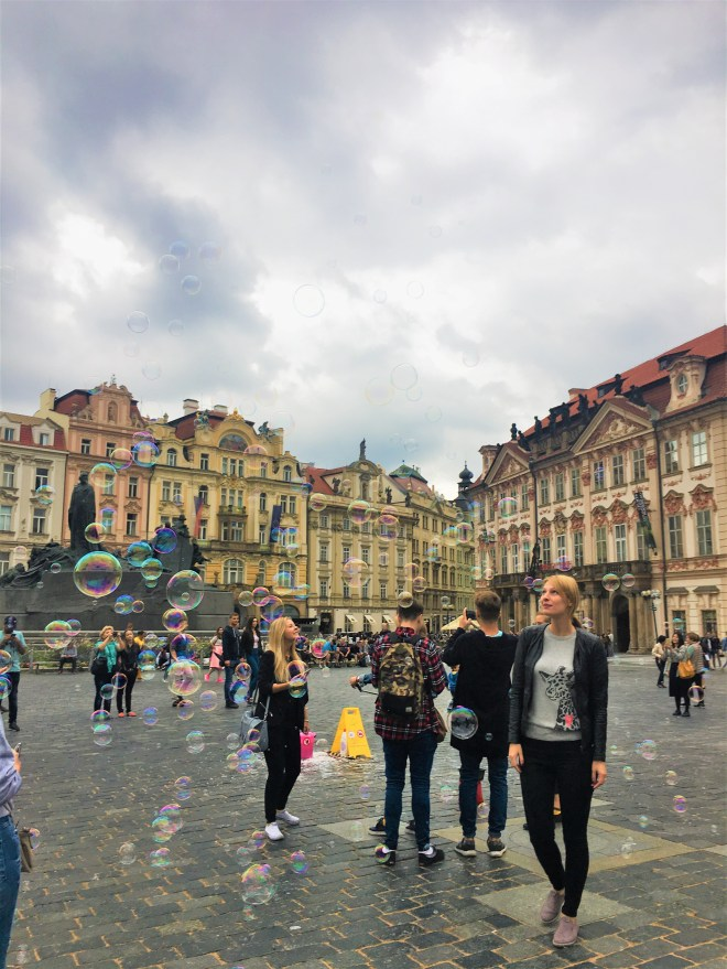 Prague - old town square - culture