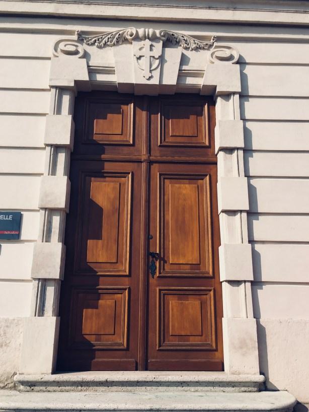 Door in Belvedere Palace