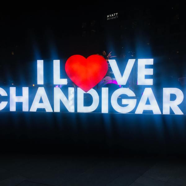 Top 10 things to do in Chandigarh, India | I love Chandigarh Symbol India