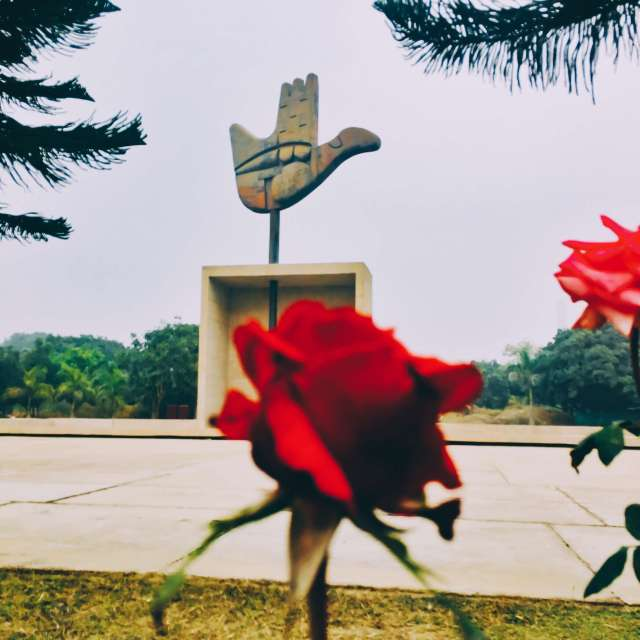 things to do in Chandigarh | Open Hand Monument Chandigarh India