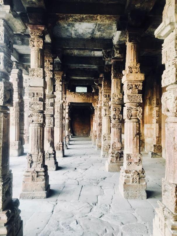 Qutub Minar, Delhi, India || Intricate Stone work