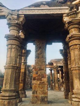 Qutub Minar, Delhi, India    stone work   