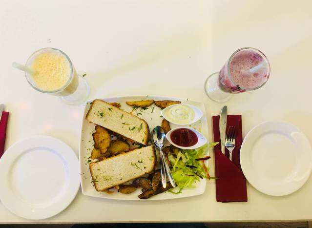things to do in Chandigarh | The Crown Patisserie Cafe Chandigarh - Food - India