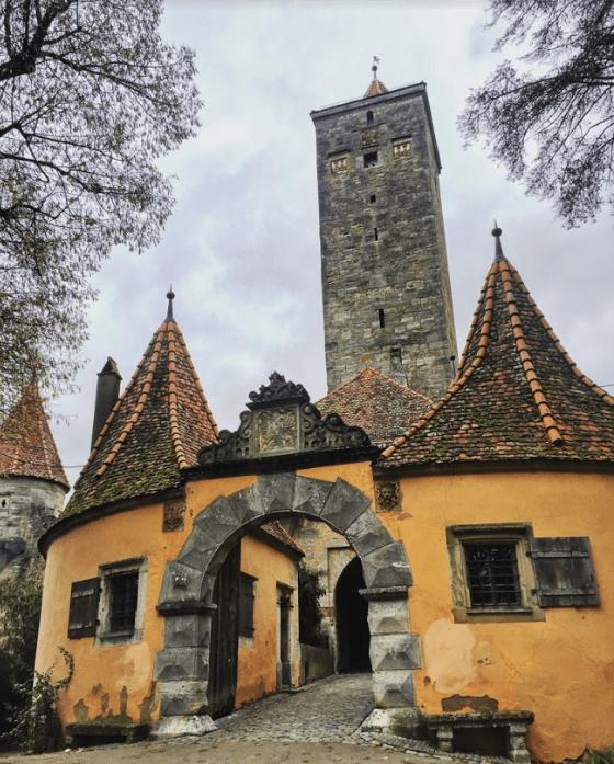 Castle at Rottherburg