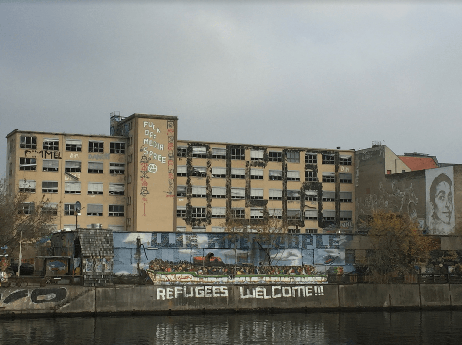 Street Graffiti at Kreuzeberg