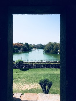 View of the lake from the madrassa