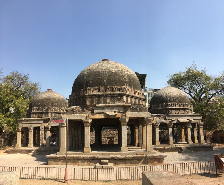 Mosque at the Hauz Khas Fort