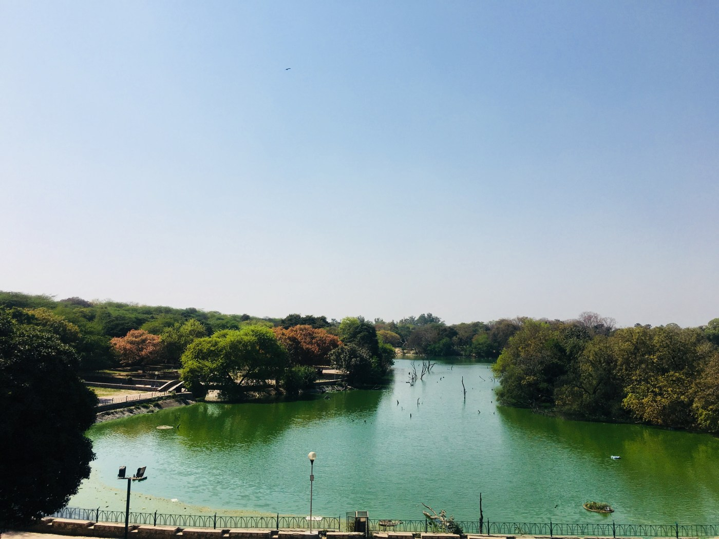 The Lake at the Hauz Khas Fort