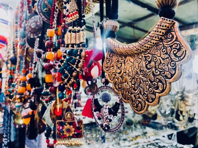 Dilli Haat necklace |  handicraft market in Delhi