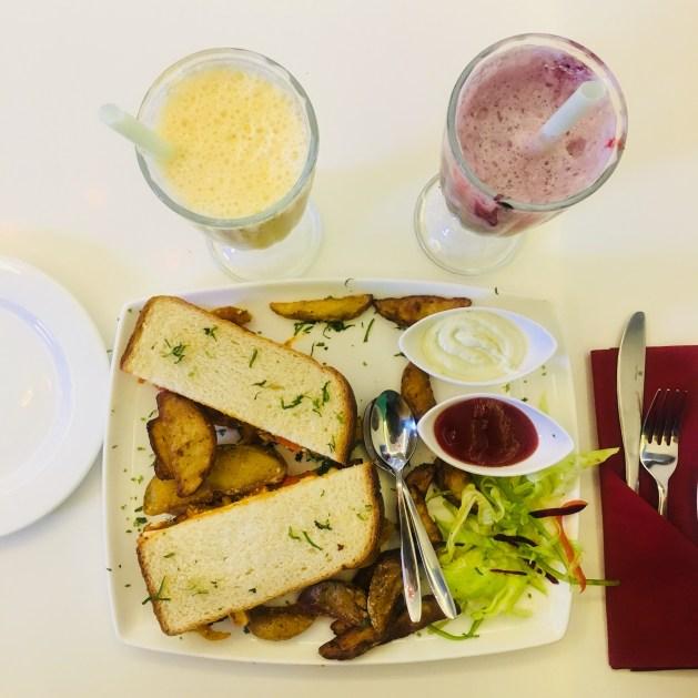 The Crown Patisserie Chandigarh - Fajita Sandwich