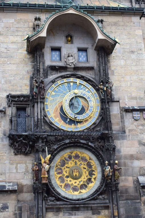 prague-astronomical-clock-close-up | Prague Itinerary | What to do in Prague in 2 days