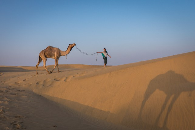 Rajasthan - Jaisalmer - Desert Safari with Camels- by Castaway with Crystal