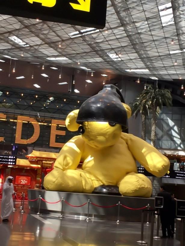 teddybear-doha-airport
