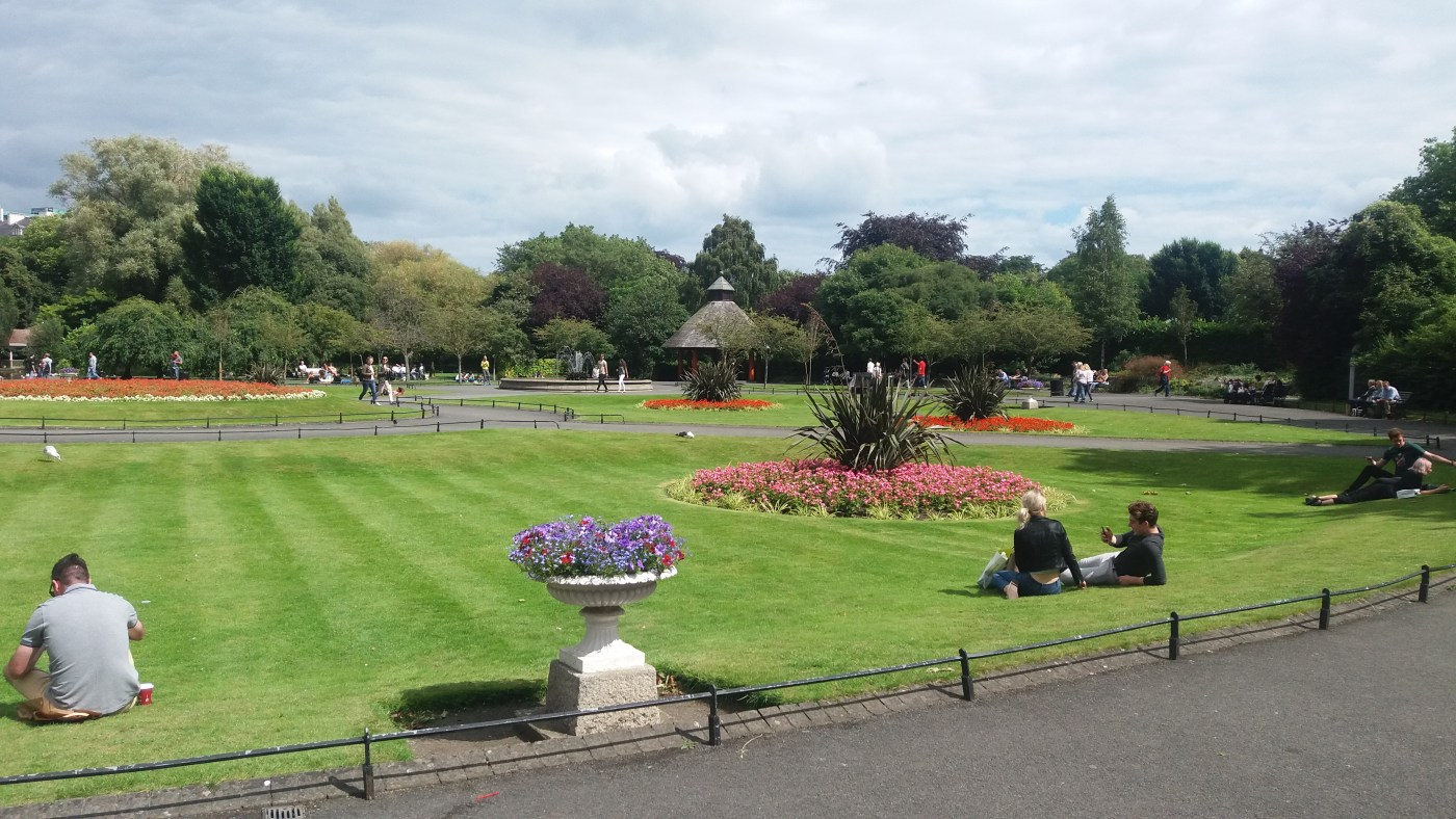 St.Stephens green | Unusual things to do in Dublin