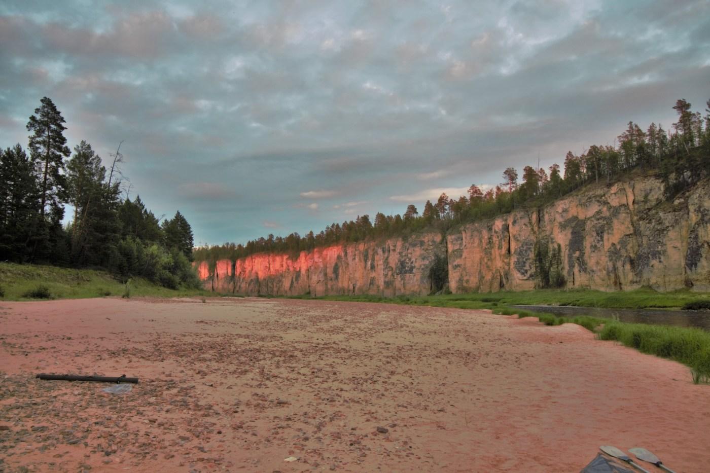 The pillars on the Lena River, Sakha Republic