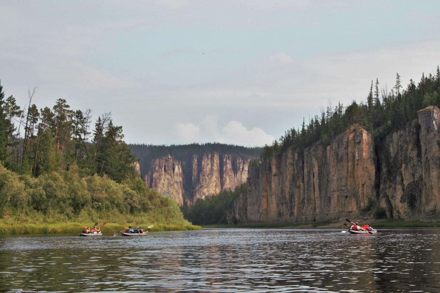 The Lena River, The Sakha Republic