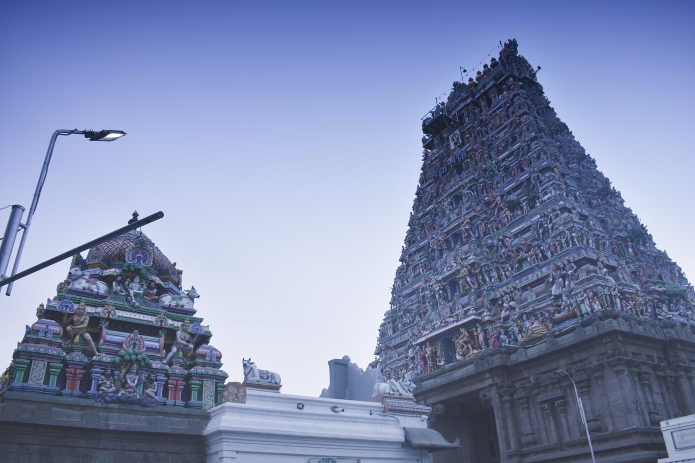 Kapaleeshwarar architecture.