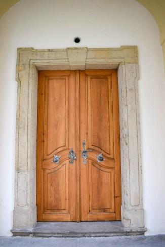 A door in the castle