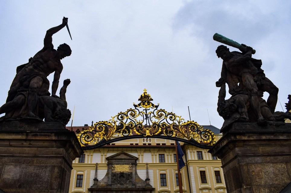 Entry of Prague castle