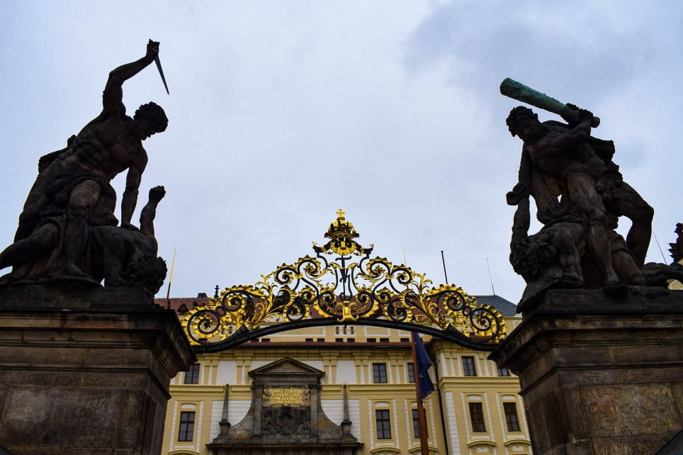 Entry of Prague castle