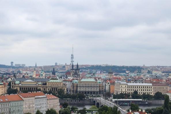 Prague landscape